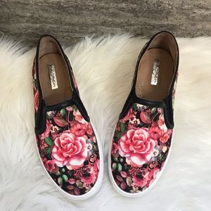 Halogen Floral Slip On Sneakers